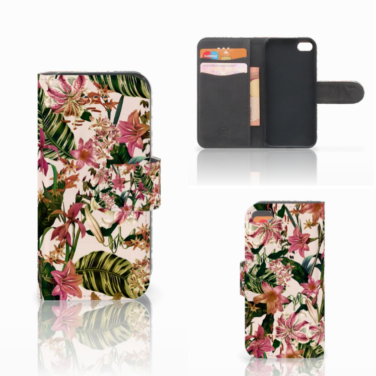 Apple iPhone 5C Hoesje Flowers