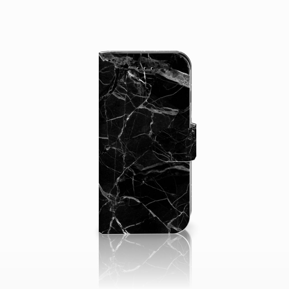 Apple iPhone 6 | 6s Bookcase Marmer Zwart