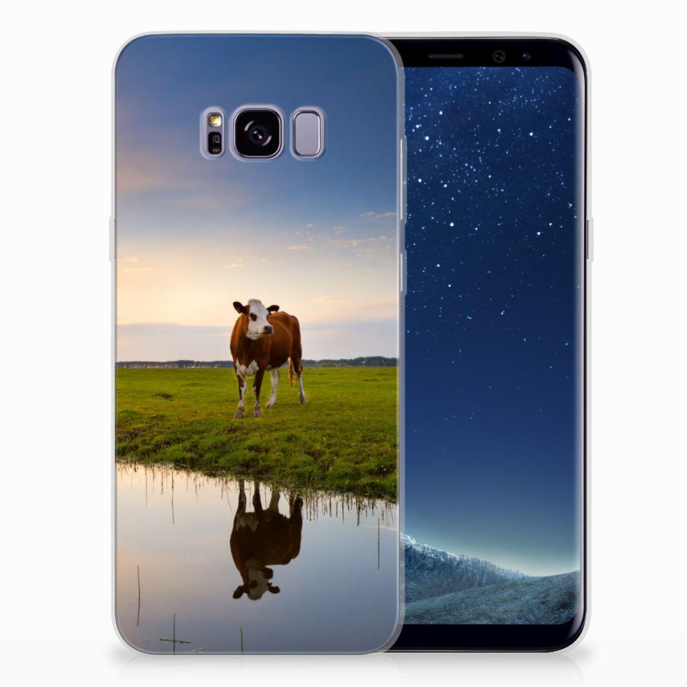 Samsung Galaxy S8 Plus TPU Hoesje Design Koe