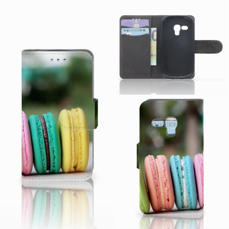 Samsung Galaxy S3 Mini Book Cover Macarons