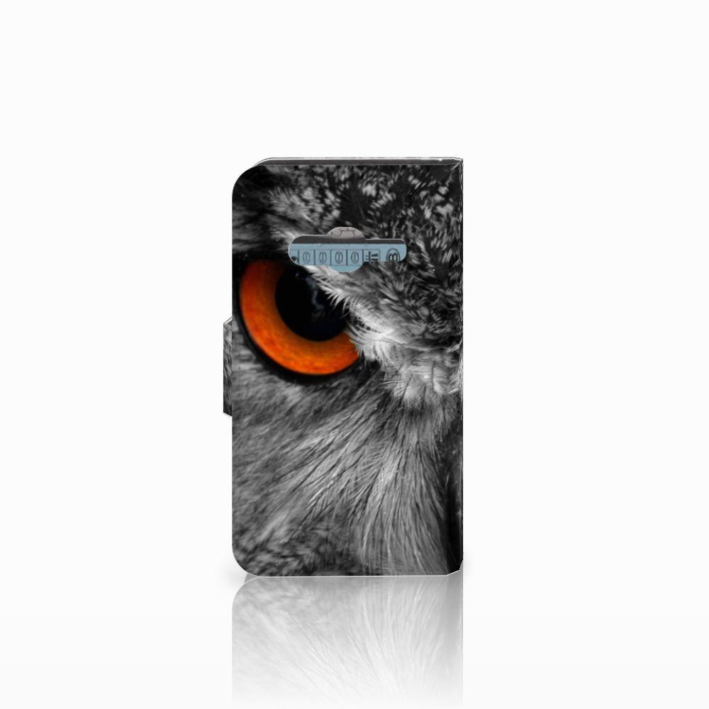 Samsung Galaxy Trend 2 Telefoonhoesje met Pasjes Uil