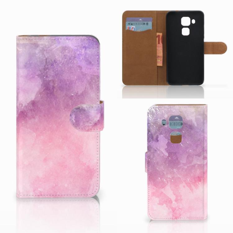 Hoesje Huawei Nova Plus Pink Purple Paint