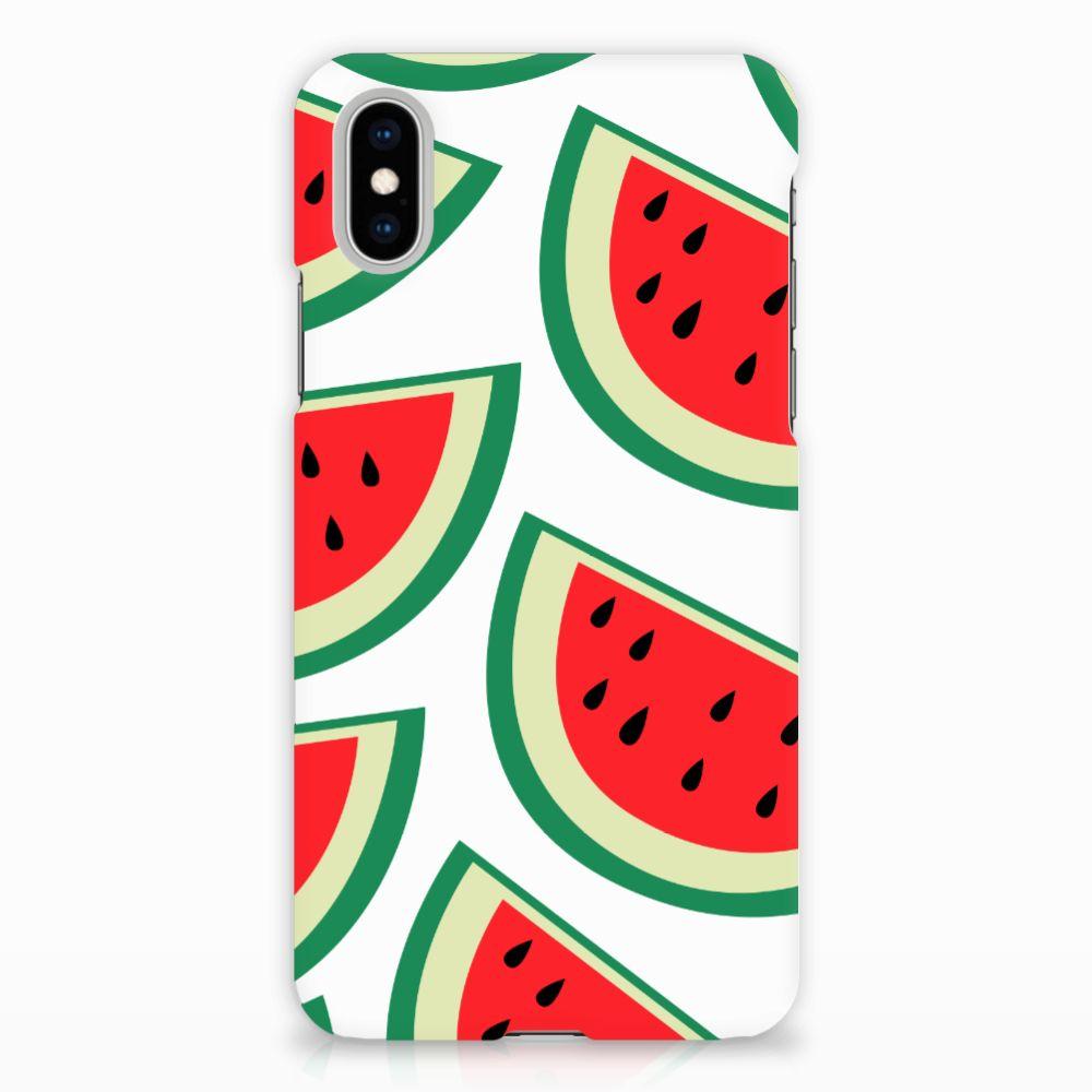 Apple iPhone X | Xs Uniek Hardcase Hoesje Watermelons