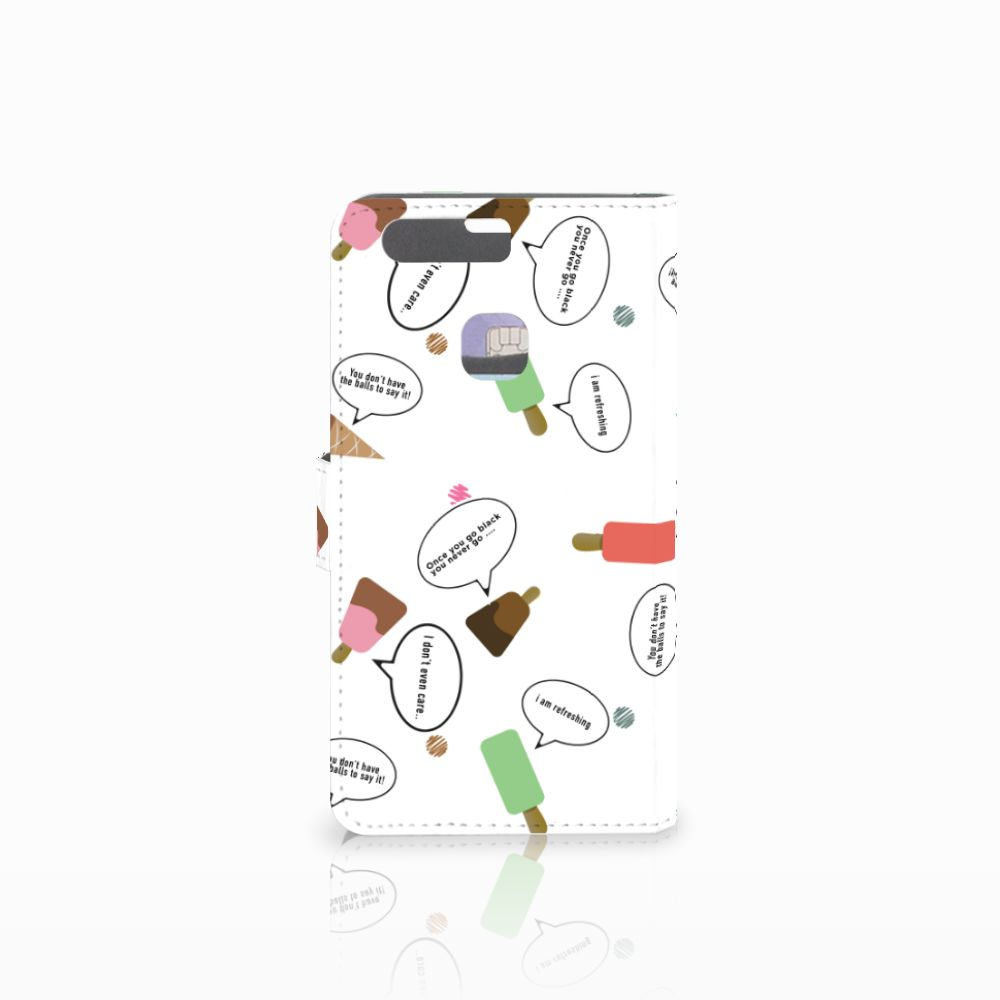 Huawei P9 Plus Book Cover IJsjes