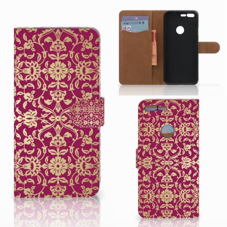 Wallet Case Google Pixel XL Barok Pink