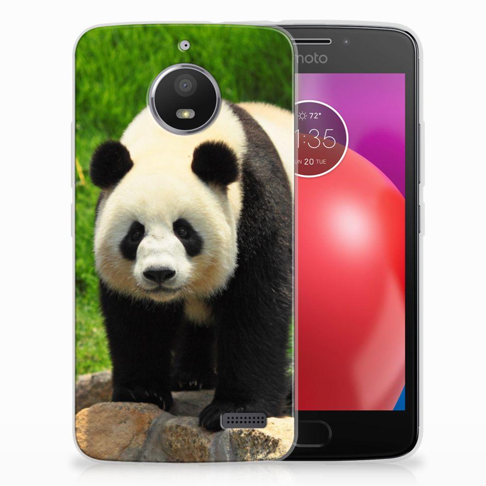 Motorola Moto E4 TPU Hoesje Design Panda