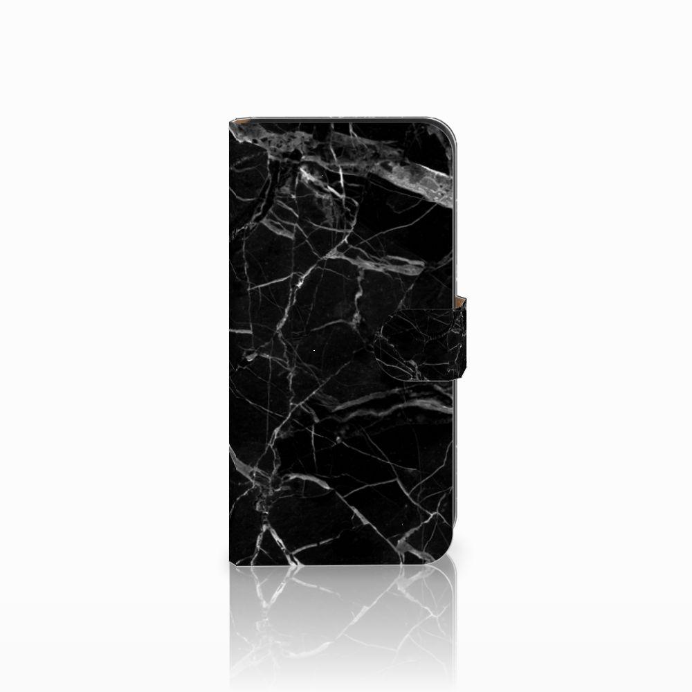 Samsung Galaxy E7 Uniek Boekhoesje Marmer Zwart
