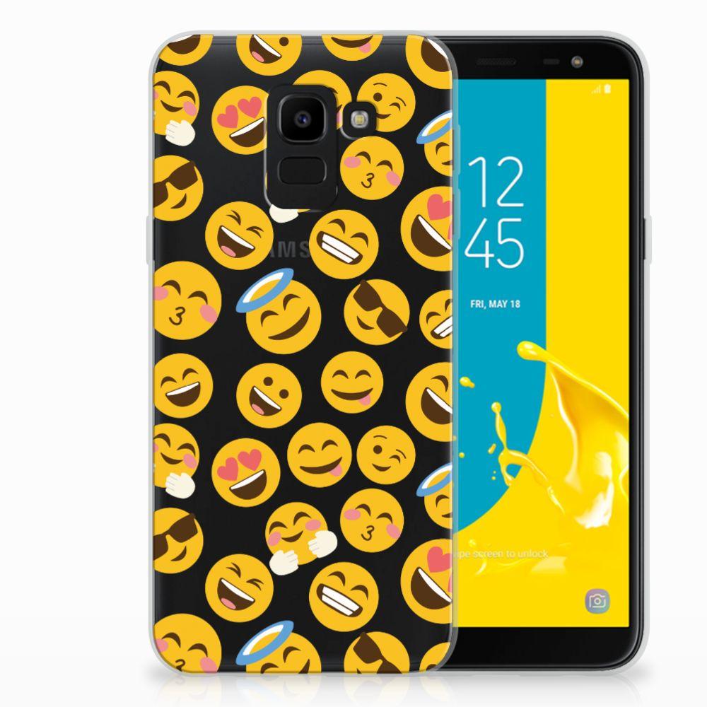 Samsung Galaxy J6 2018 TPU bumper Emoji