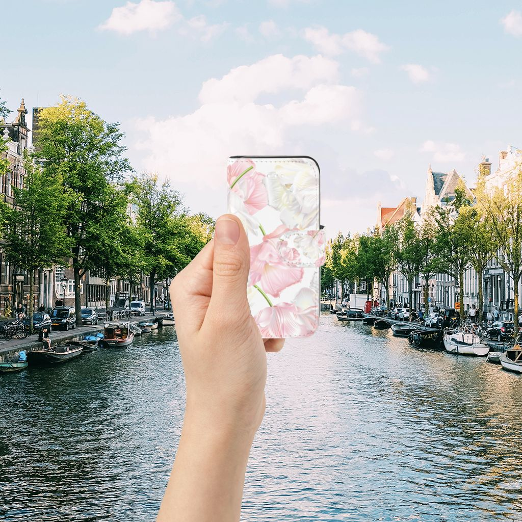 Apple iPhone 5 | 5s | SE Boekhoesje Design Lovely Flowers
