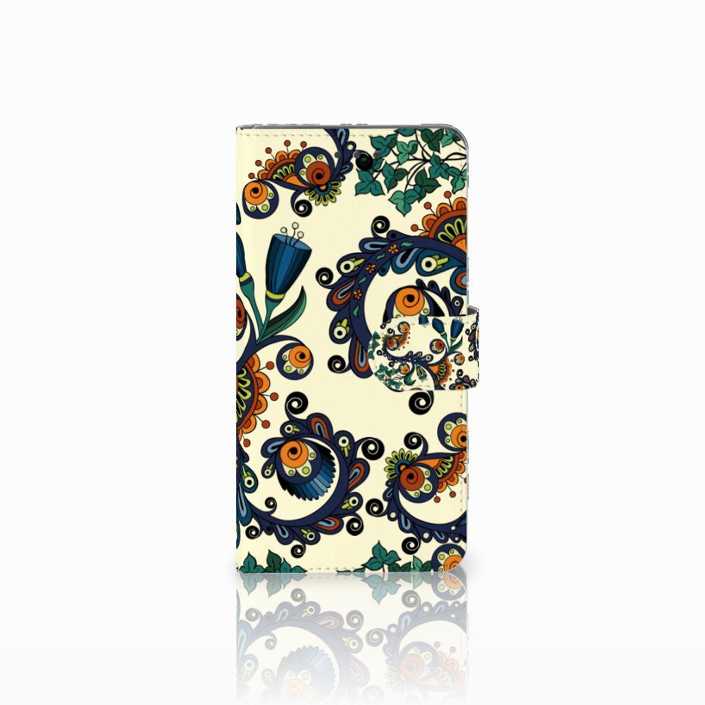 Huawei Mate 8 Boekhoesje Design Barok Flower
