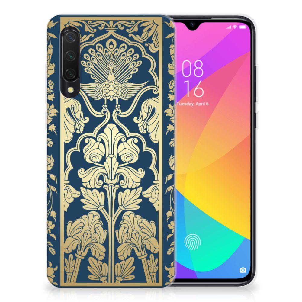 Xiaomi Mi 9 Lite TPU Case Golden Flowers