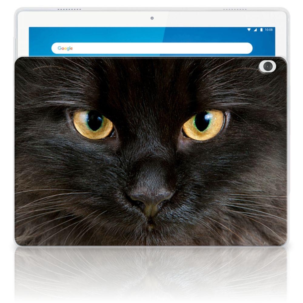 Lenovo Tab M10 Back Case Zwarte Kat