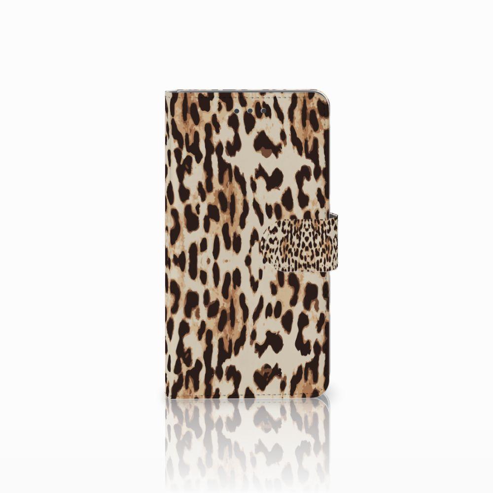 Huawei Honor 5X Uniek Boekhoesje Leopard