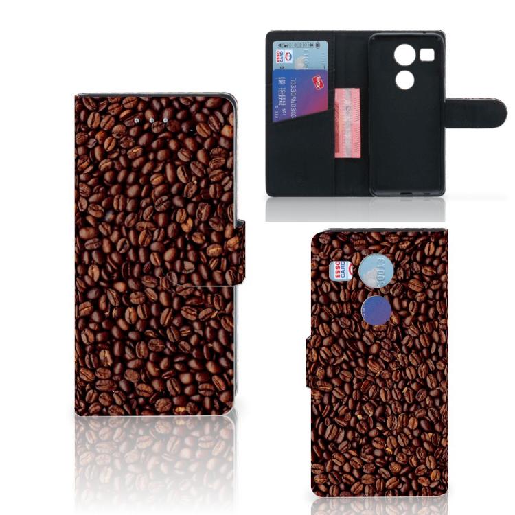 LG Nexus 5X Book Cover Koffiebonen
