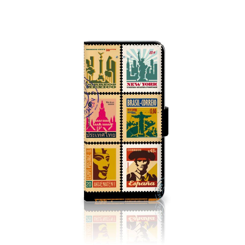 Honor 4A | Y6 Uniek Boekhoesje Postzegels