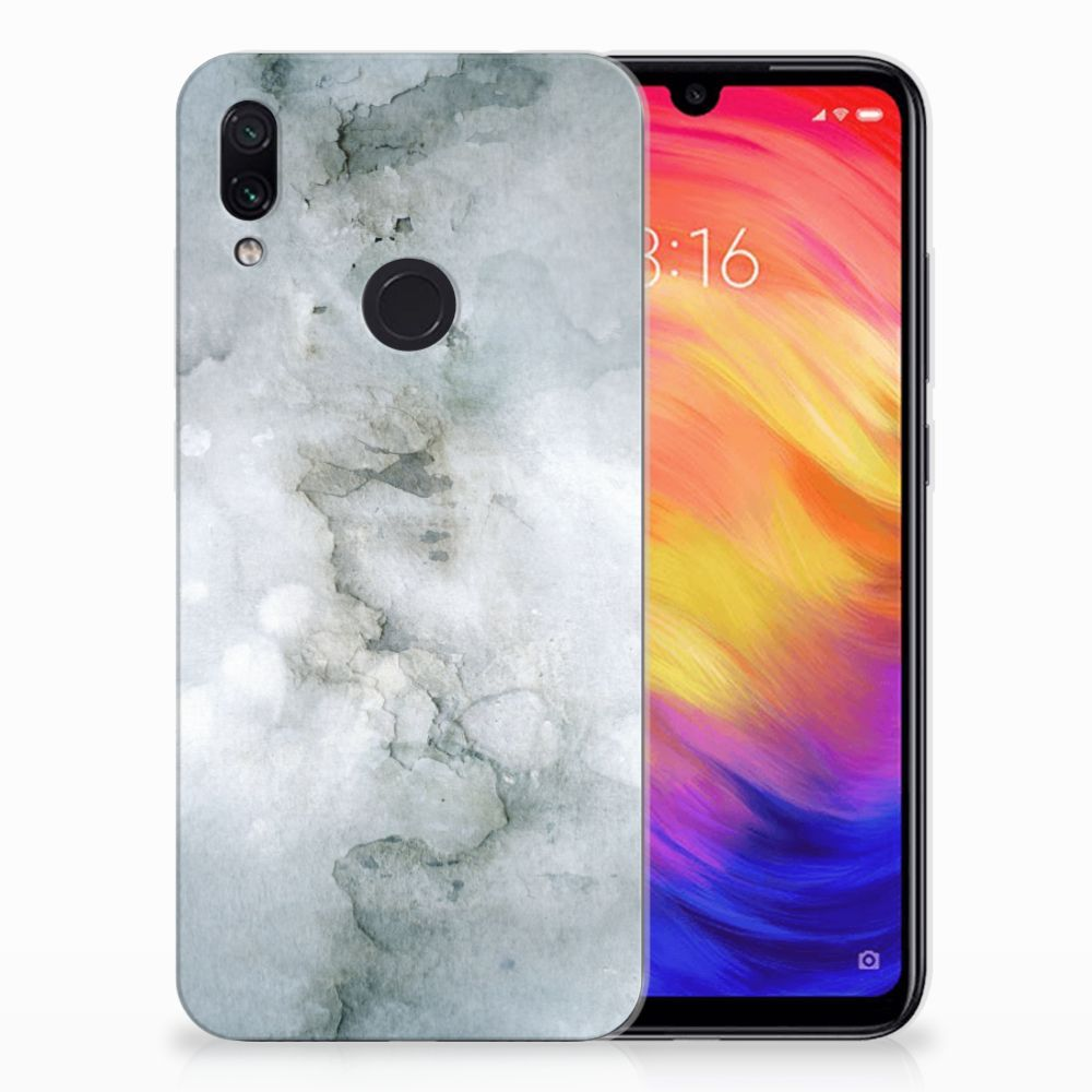 Hoesje maken Xiaomi Redmi Note 7 Painting Grey