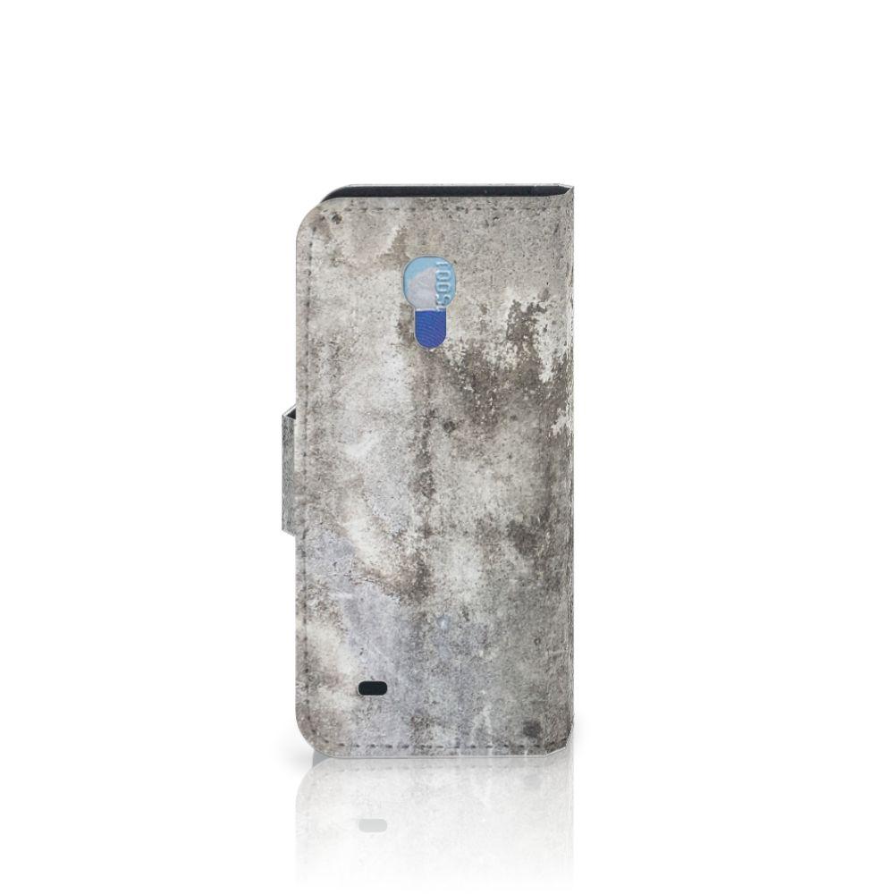 Samsung Galaxy S4 Mini i9190 Bookcase Beton Print