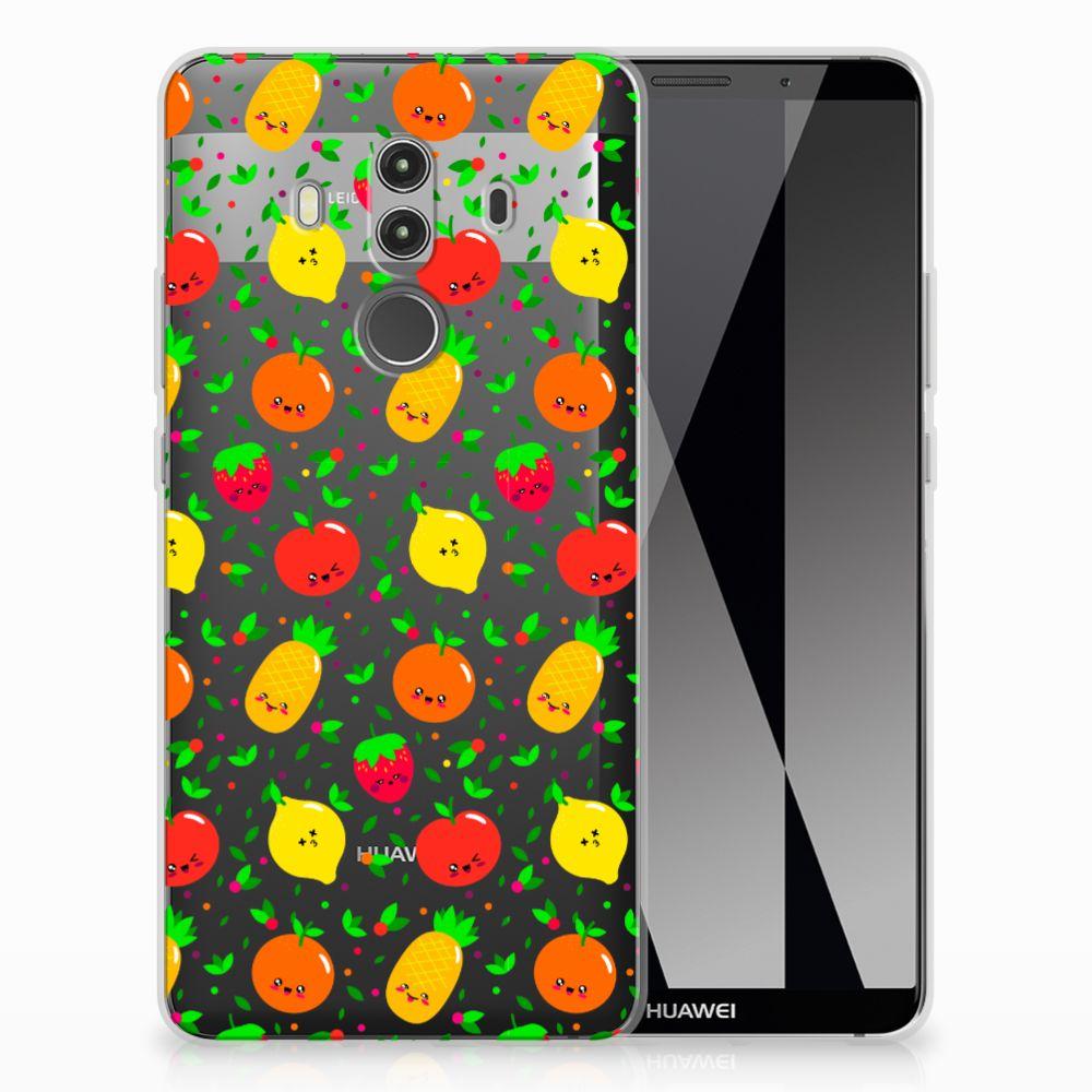 Huawei Mate 10 Pro TPU Hoesje Design Fruits