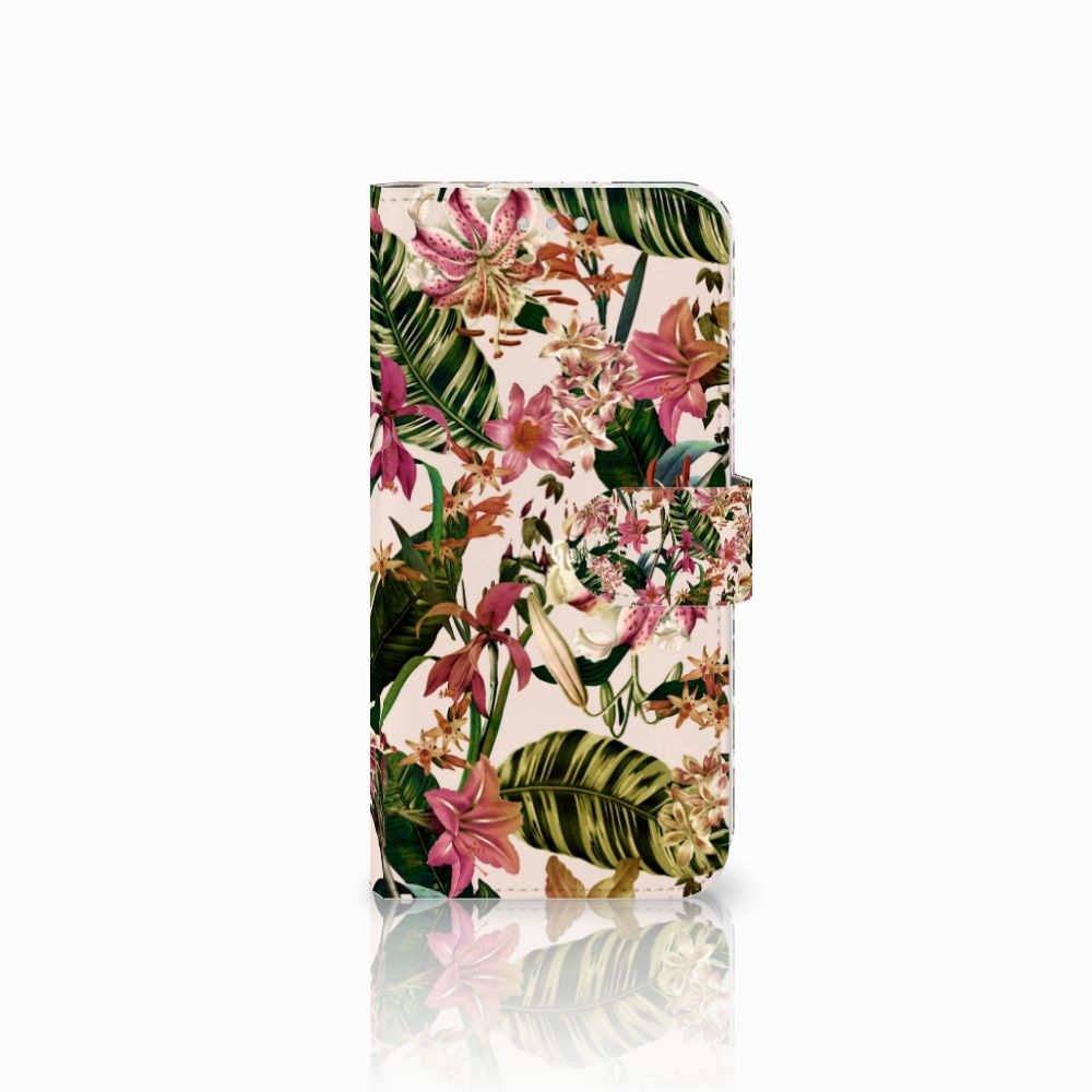 Huawei P20 Pro Uniek Boekhoesje Flowers