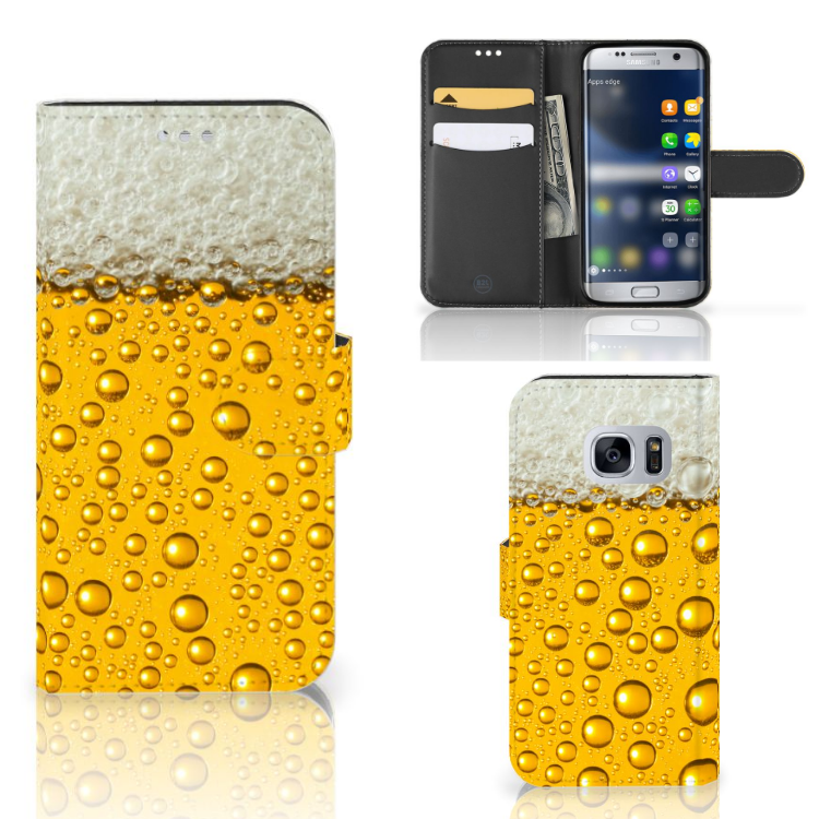 Samsung Galaxy S7 Book Cover Bier