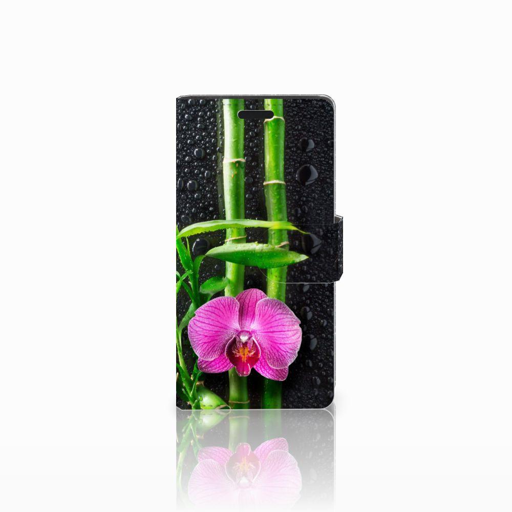 LG Leon 4G Boekhoesje Design Orchidee