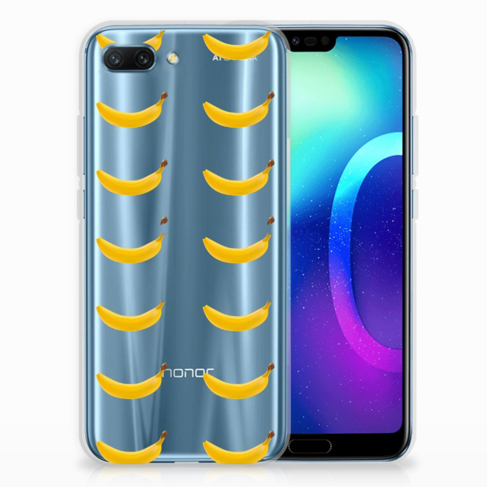 Huawei Honor 10 Siliconen Case Banana