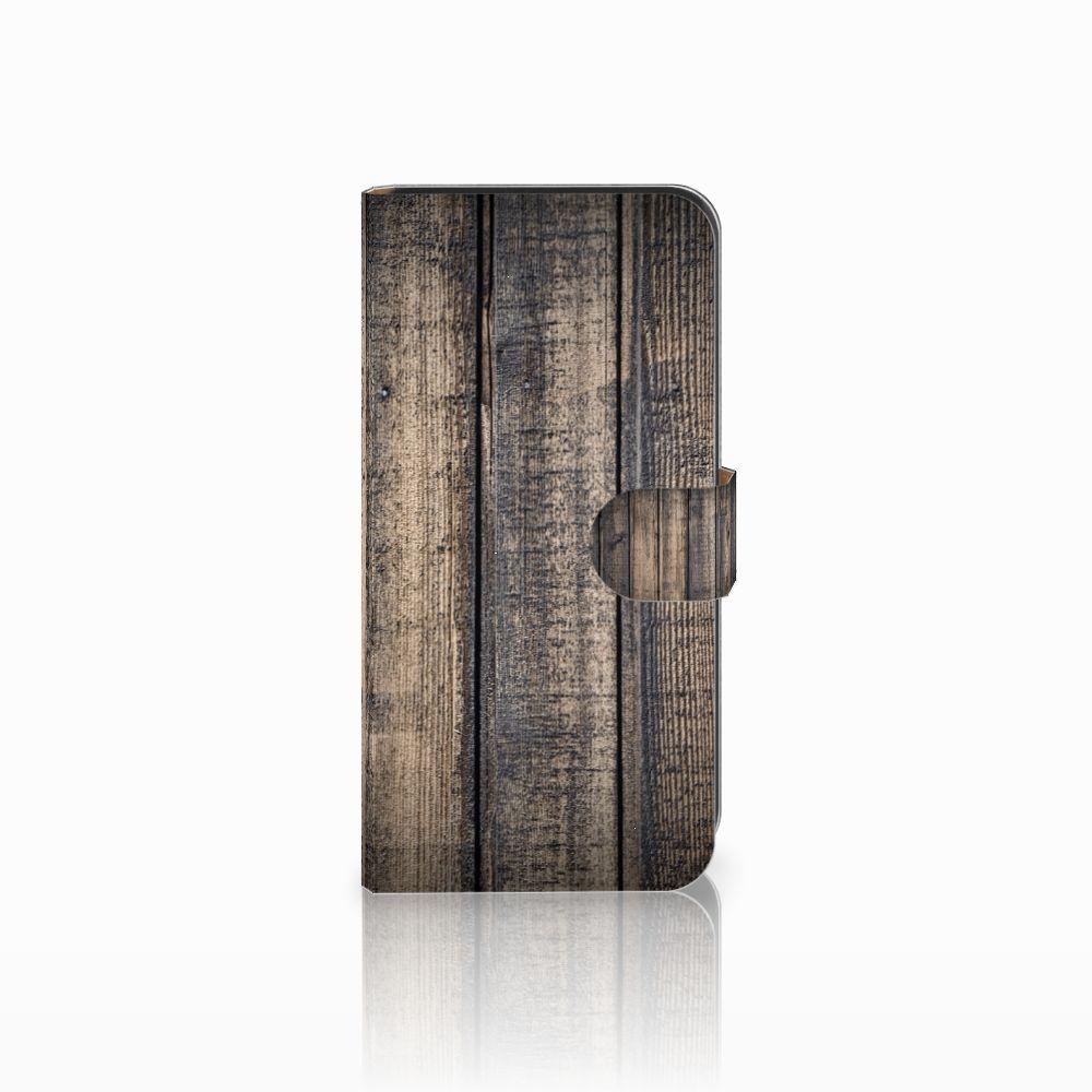 Samsung Galaxy E7 Boekhoesje Design Steigerhout
