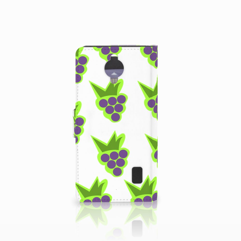Huawei Y635 Book Cover Druiven