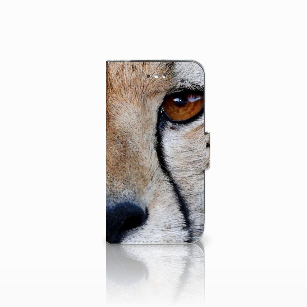 Samsung Galaxy S4 Telefoonhoesje met Pasjes Cheetah