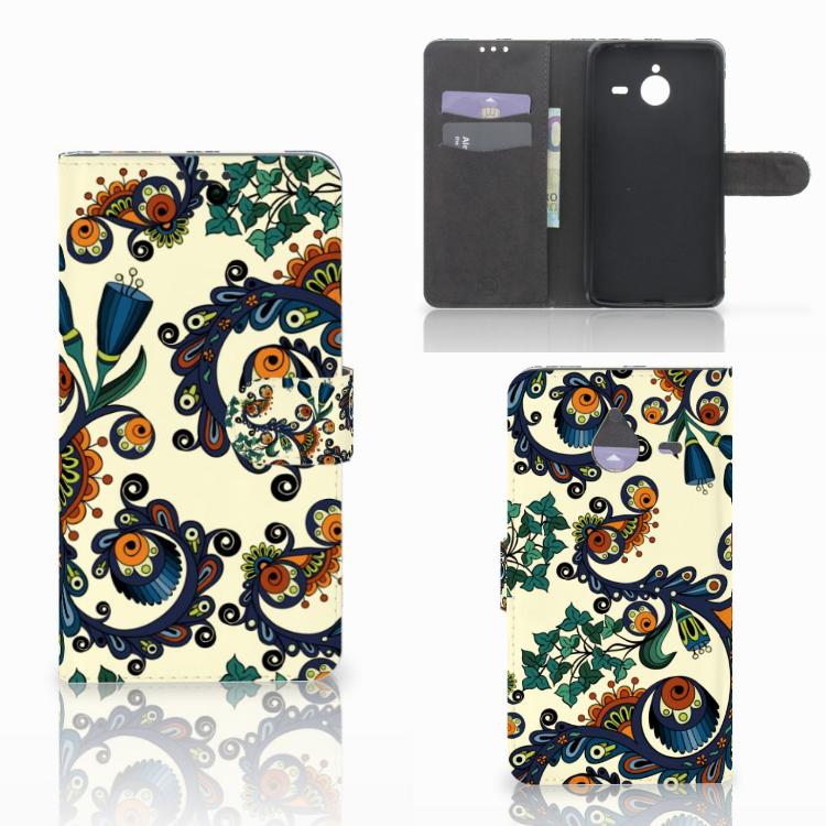 Wallet Case Microsoft Lumia 640 XL Barok Flower