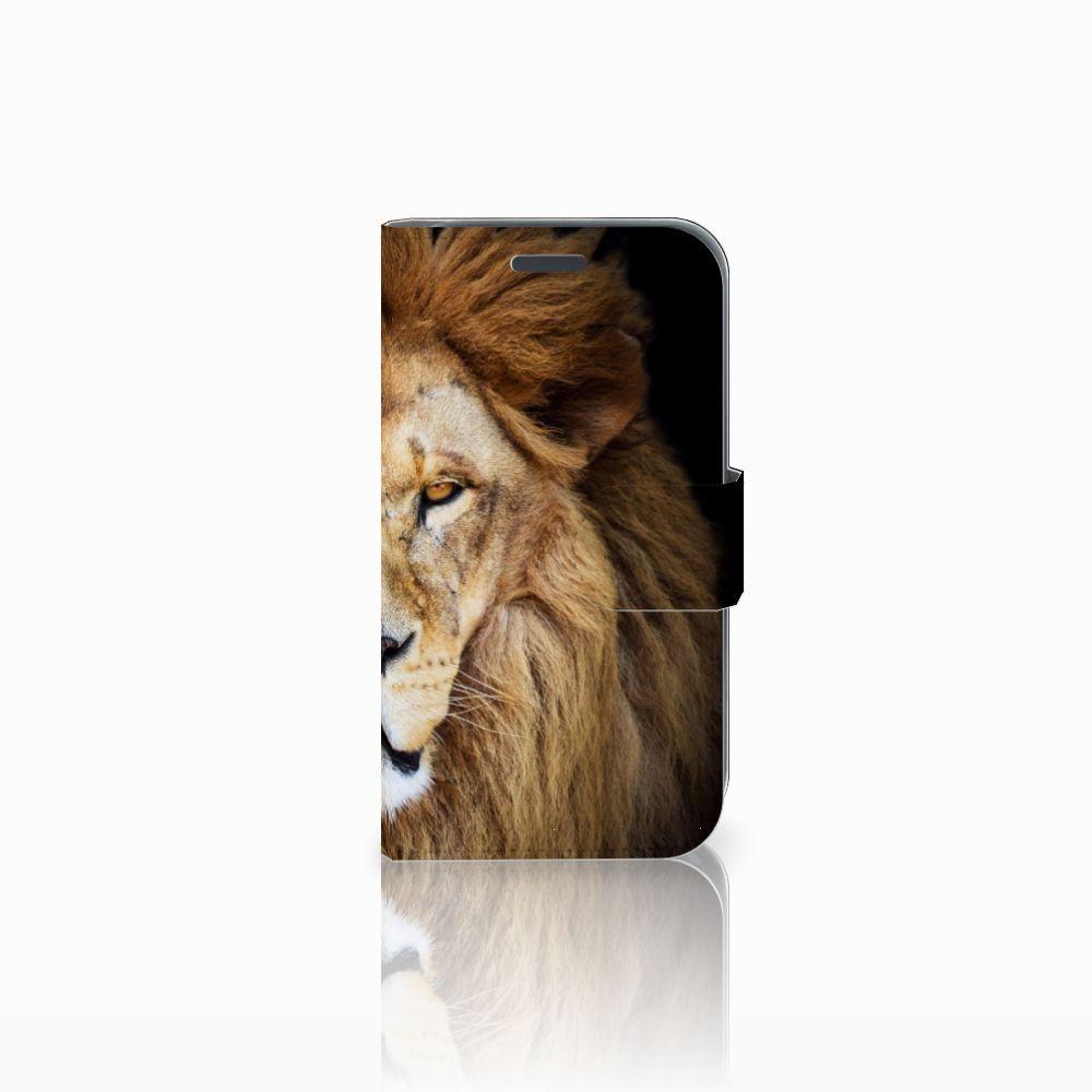 Samsung Galaxy J1 2016 Boekhoesje Design Leeuw