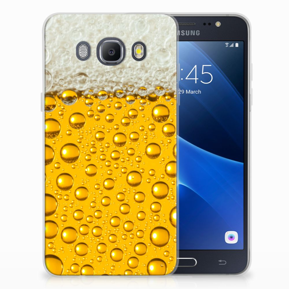 Samsung Galaxy J5 2016 Siliconen Case Bier