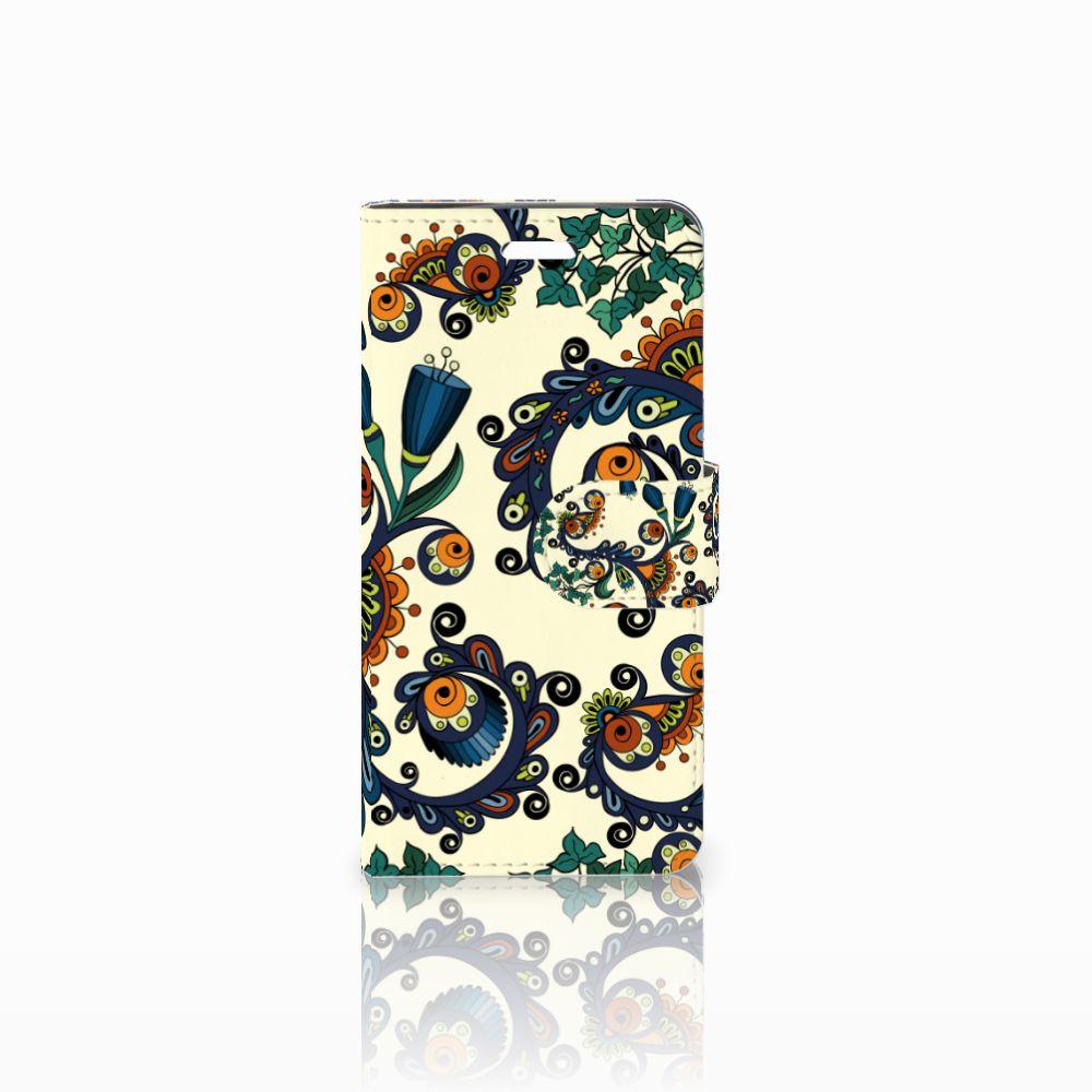Acer Liquid Z330 Boekhoesje Design Barok Flower