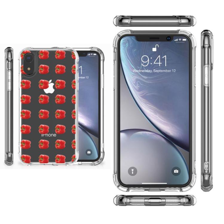 Apple iPhone Xr Beschermhoes Paprika Red