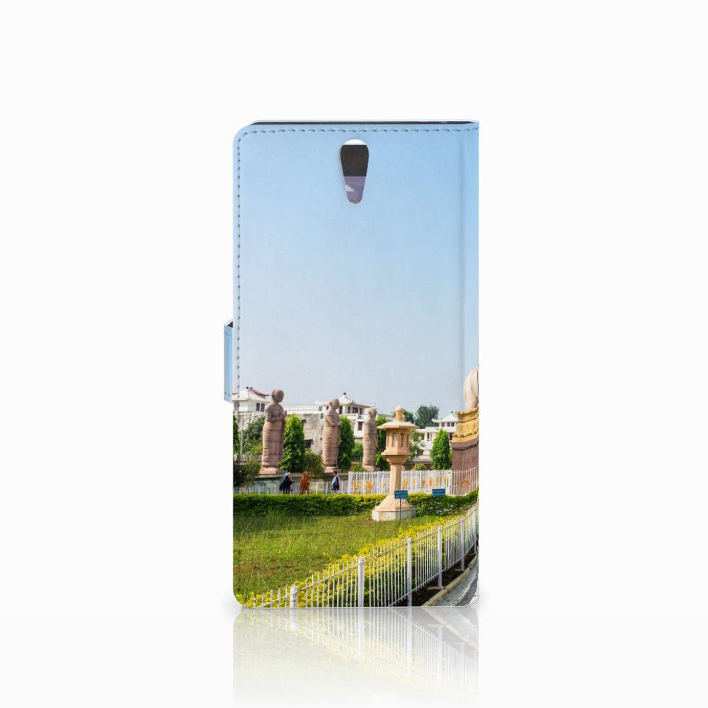 Sony Xperia C5 Ultra Flip Cover Boeddha