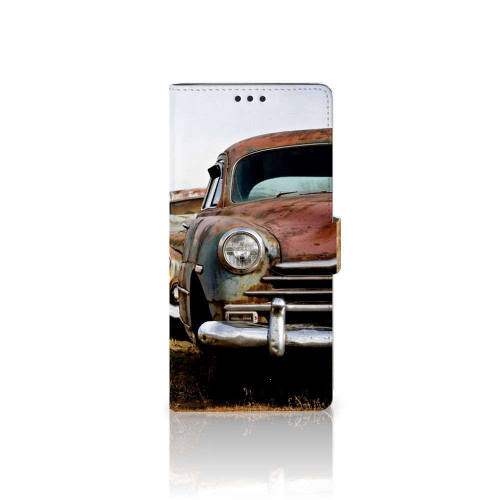 Sony Xperia XA Ultra Uniek Boekhoesje Vintage Auto