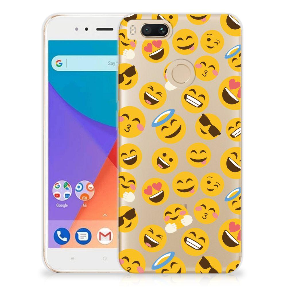 Xiaomi Mi A1 TPU bumper Emoji