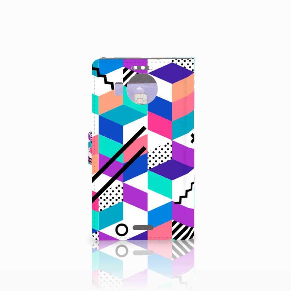 Microsoft Lumia 950 XL Bookcase Blokken Kleurrijk