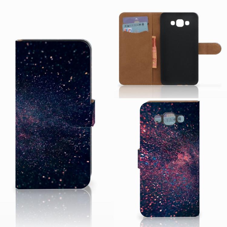 Samsung Galaxy E7 Bookcase Stars