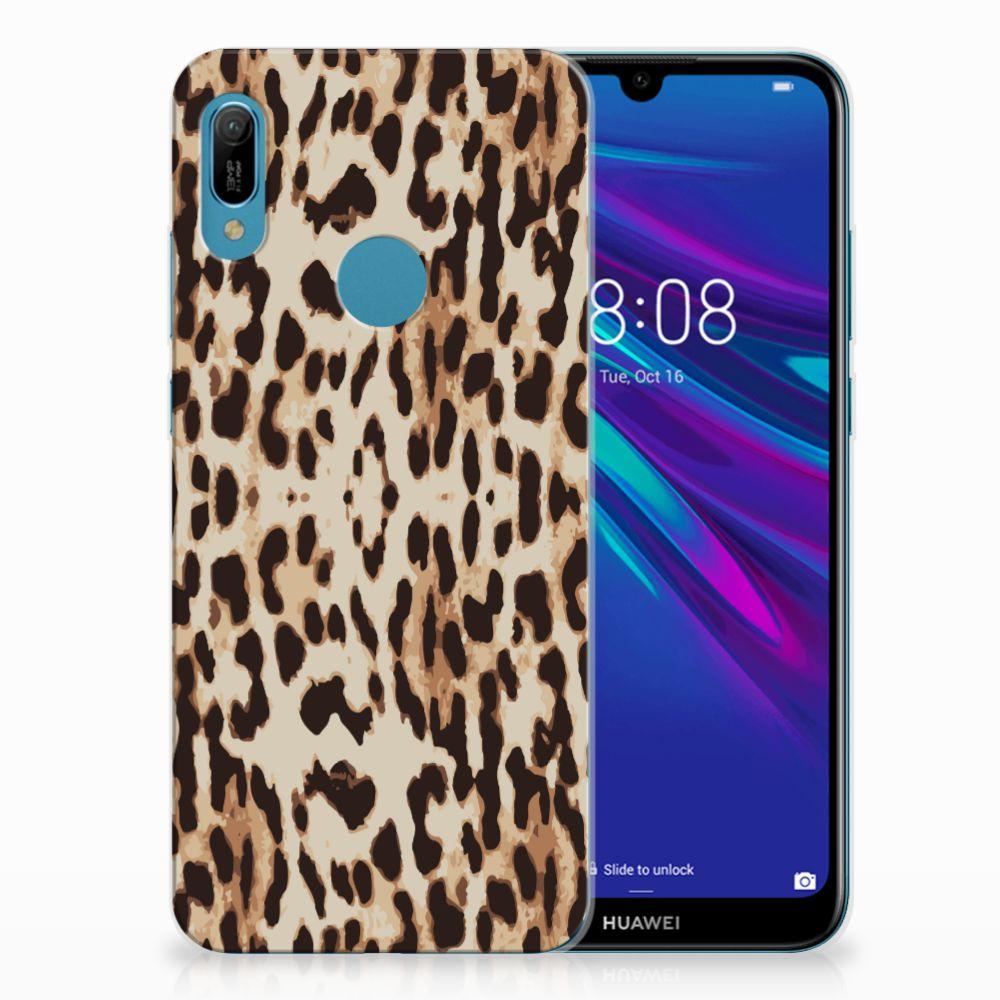 Huawei Y6 2019 | Y6 Pro 2019 TPU Hoesje Leopard