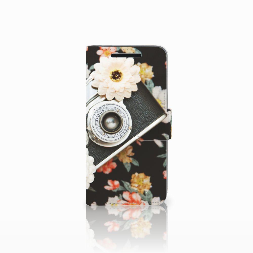 HTC One M9 Telefoonhoesje met foto Vintage Camera