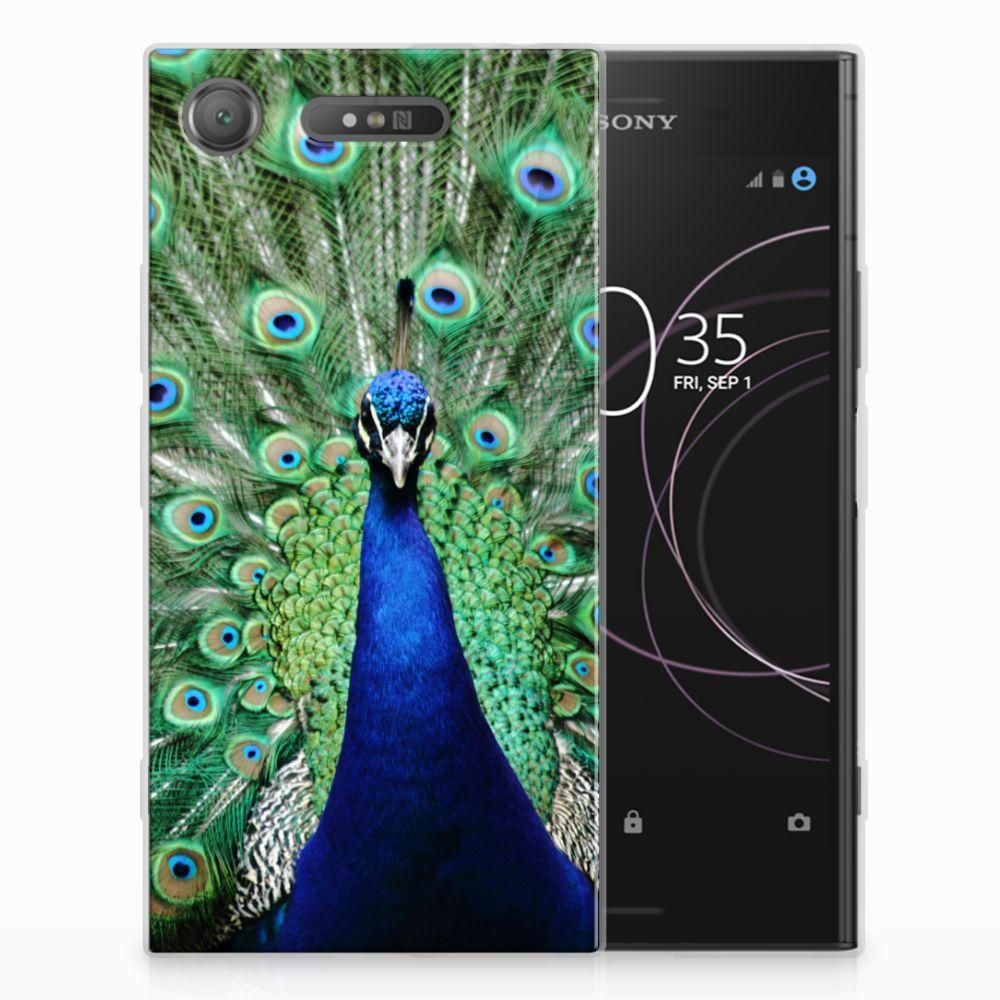 Sony Xperia XZ1 TPU Hoesje Pauw