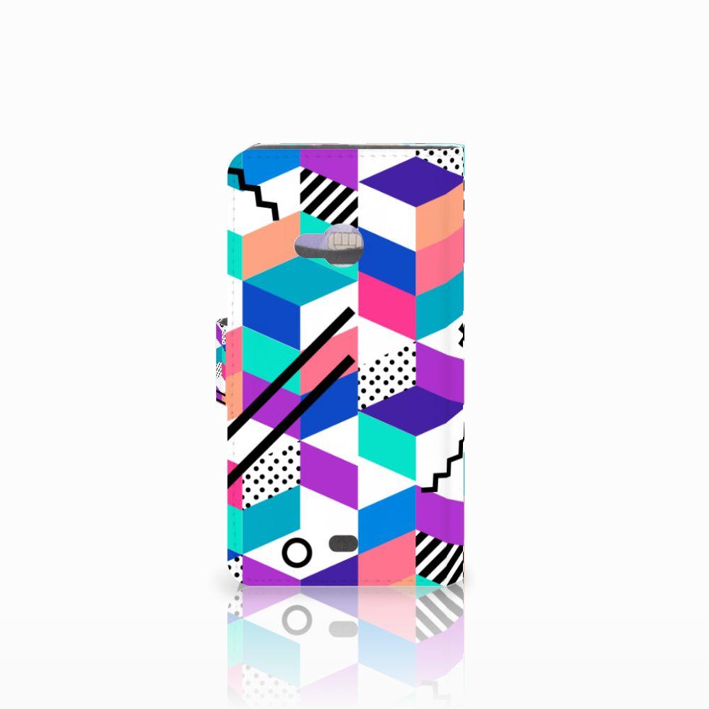 Microsoft Lumia 535 Bookcase Blokken Kleurrijk