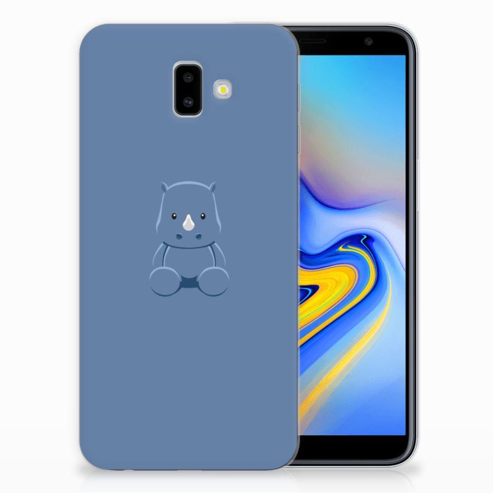 Samsung Galaxy J6 Plus (2018) Telefoonhoesje met Naam Baby Rhino