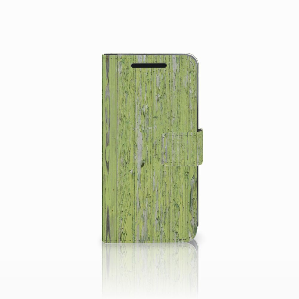 HTC One M9 Book Style Case Green Wood