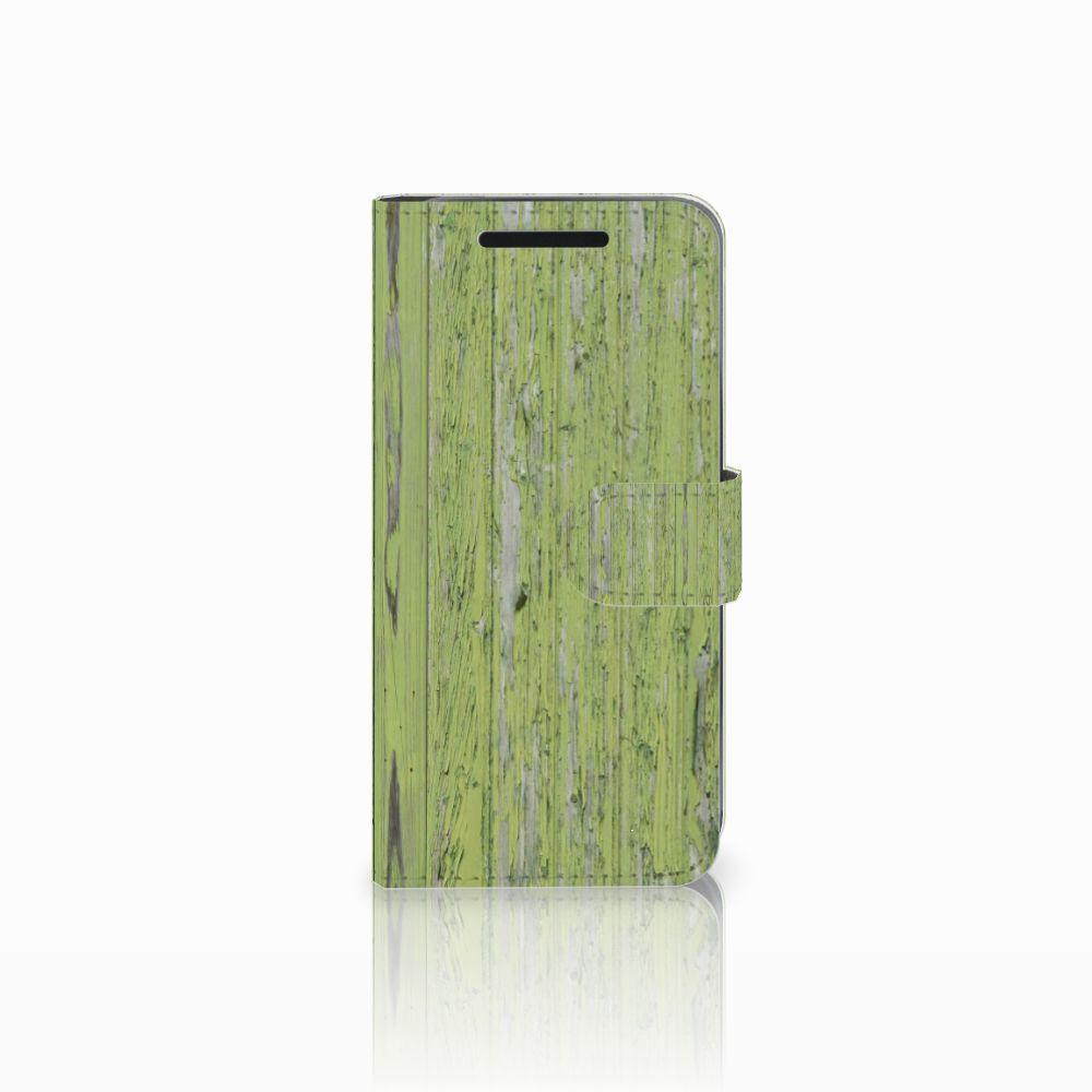HTC One M9 Boekhoesje Design Green Wood