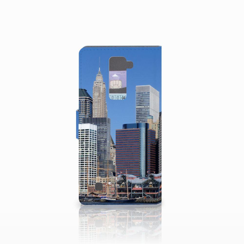 LG K10 2015 Flip Cover Vrijheidsbeeld