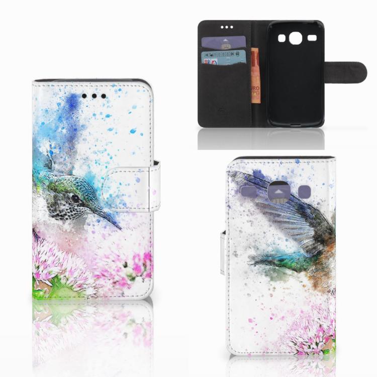 Hoesje Samsung Galaxy Core i8260 Vogel