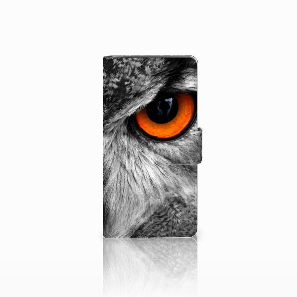 LG Bello 2 Telefoonhoesje met Pasjes Uil