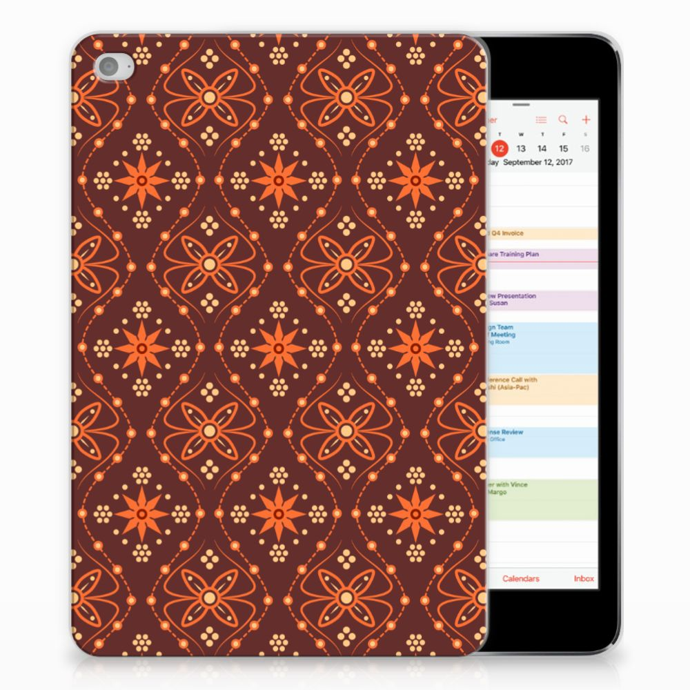 Apple iPad Mini 4 | Mini 5 (2019) Hippe Hoes Batik Brown